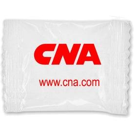 Monogrammed Bag of Printed Chocolate Mints