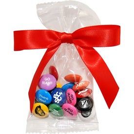 Personalized Bags Printed Candy with Bow