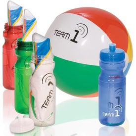 Advertising Ball-In-A-Bottle Combo