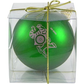 Imprinted Ball Ornament