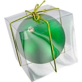 Monogrammed Ball Ornament