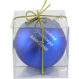 Ball Ornament Giveaways