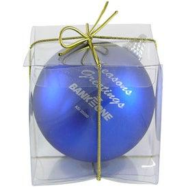 Imprinted Ball Ornament