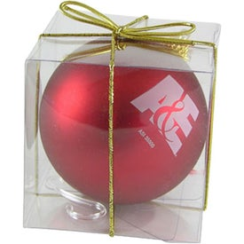 Ball Ornament Printed with Your Logo