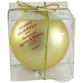 Branded Ball Ornament