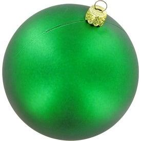 Advertising Ball Ornament