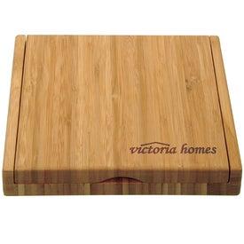 Custom Bamboo Cheese Utensil Set