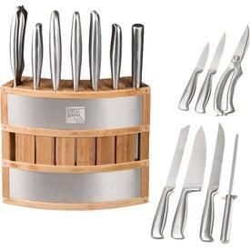 Bamboo Knife Block for Marketing