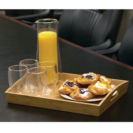 Bamboo Service Tray for Promotion