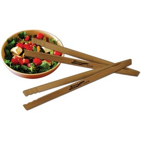 Bamboo Tongs for Marketing