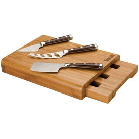 Bambu Cheese Set with Your Logo