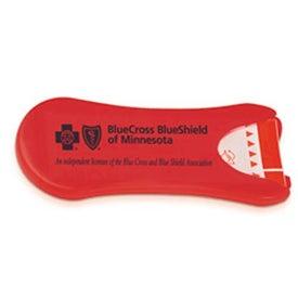 Plastic Bandage Dispenser Imprinted with Your Logo