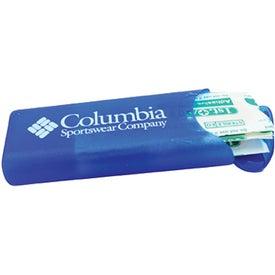 Personalized Flip Top Bandage Holder