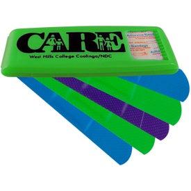 Customized Bandage Dispenser with Colored Bandages