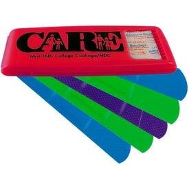 Bandage Dispenser with Colored Bandages