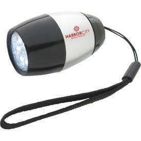 Branded Barrel Flashlight