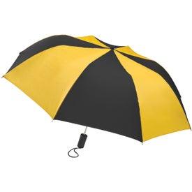 Custom Barrister Auto-Open Folding Umbrella