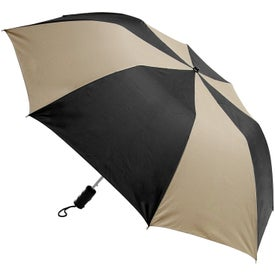 Barrister Auto-Open Folding Umbrella Printed with Your Logo