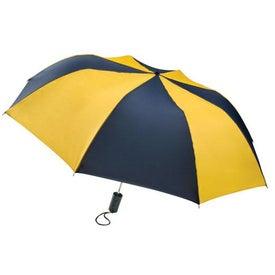 Customized Barrister Auto-Open Folding Umbrella