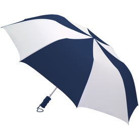 Personalized Barrister Auto-Open Folding Umbrella