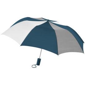 Barrister Auto-Open Folding Umbrella for Marketing