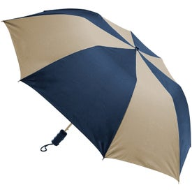 Company Barrister Auto-Open Folding Umbrella