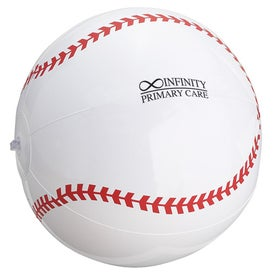 "Baseball Inflatable Beach Ball (14"")"