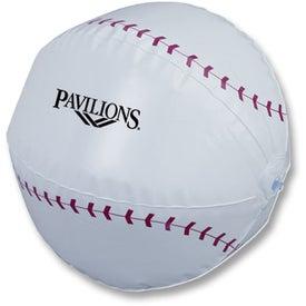 "Baseball Beach Ball (14"")"