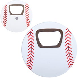 Branded Baseball Bottle Opener