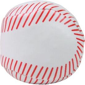 Printed Baseball Hackey Sack