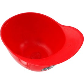 Baseball Helmet Ice Cream Bowl for Advertising