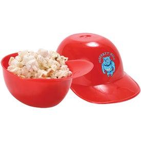 Baseball Helmet Ice Cream Bowl Printed with Your Logo