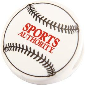 Imprinted Baseball Keep-It Clip