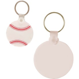Advertising Baseball Key Chain