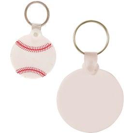 Advertising Baseball Key Chain