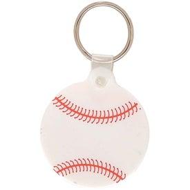 Logo Baseball Key Chain