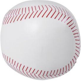 Branded Baseball Pillow Ball