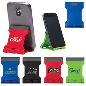 Logo Basic Folding Smartphone & Tablet Stand