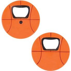 Custom Basketball Bottle Opener
