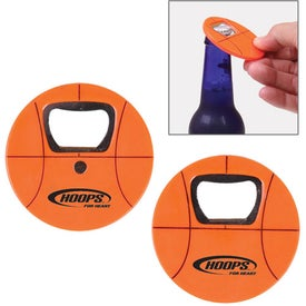 Promotional Basketball Bottle Opener