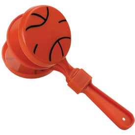 Imprinted Basketball Clapper