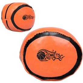 Printed Basketball Hackey Sack