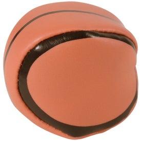 Imprinted Basketball Hackey Sack