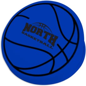 Basketball Keep-It Clip with Your Slogan