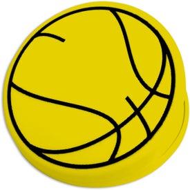 Monogrammed Basketball Keep-It Clip