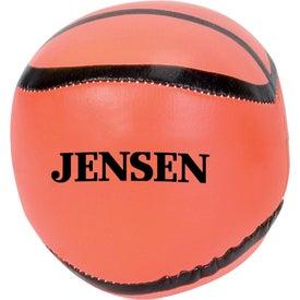 Basketball Pillow Ball with Your Slogan