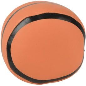 Basketball Pillow Ball Imprinted with Your Logo