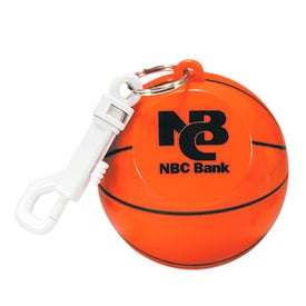 Basketball with Hook Clip and Poncho
