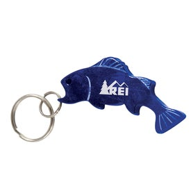 Bass Bottle Opener Key Chain