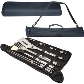 BBQ Master Grill Set Imprinted with Your Logo
